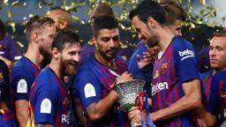 """""""Барса"""" оцеля срещу силните андалусийци за първи трофей"""