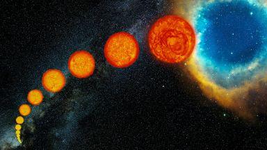 Един сценарий за смъртта на Слънцето