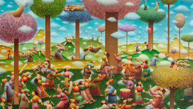 14 райски кътчета представя в изложба художникът Николай Стоев