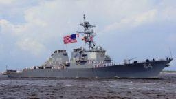 Американски разрушител влезе в Черно море
