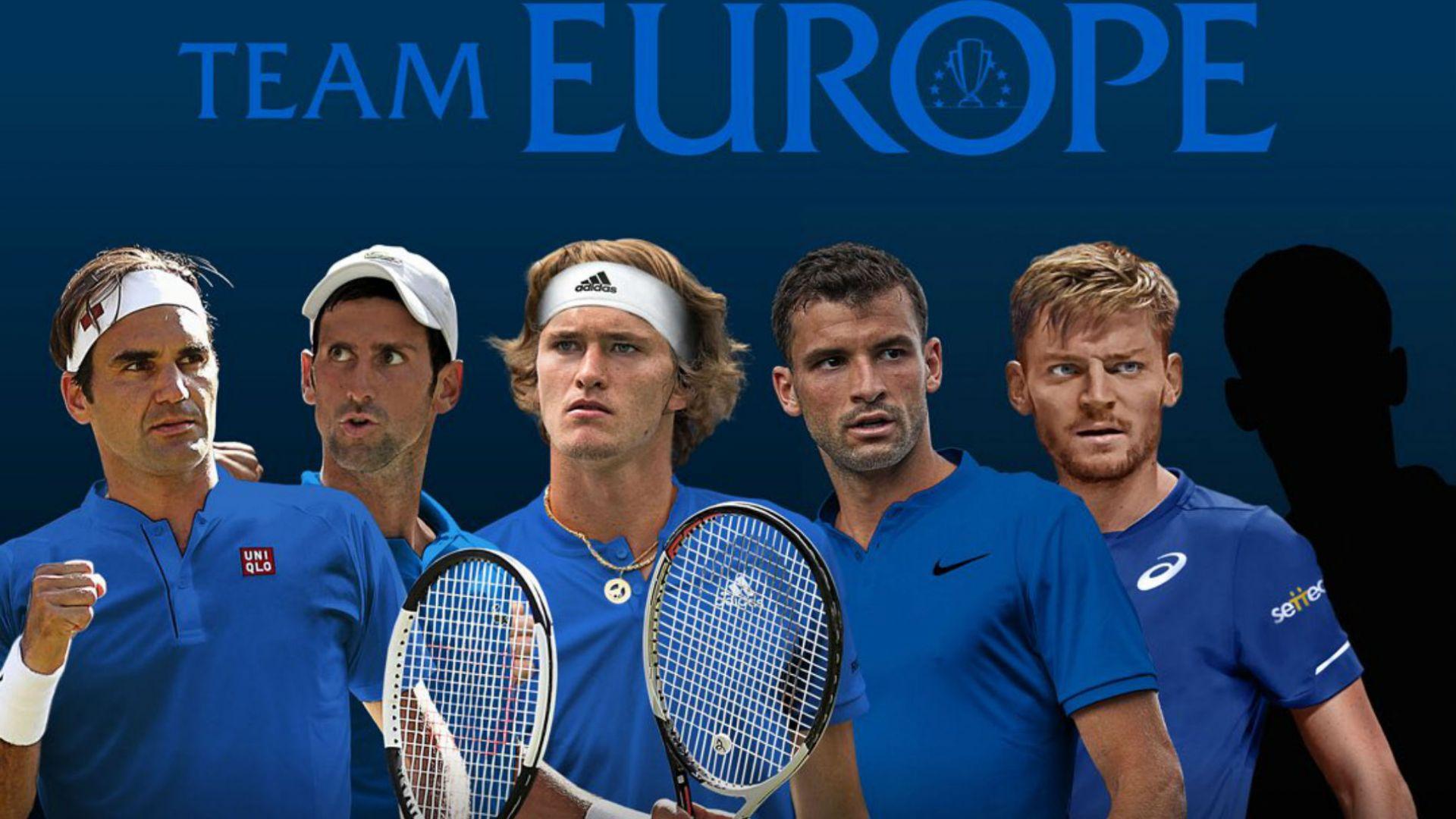 Григор заедно с Федерер в отбора на Европа