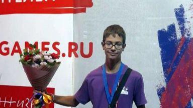 Русенче с онзаболяване станал медалист в спортни игри в Москва