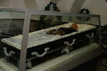 Балсамираното тяло на Пирогов