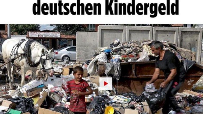 """""""Билд"""": Как ромите от Столипиново отиват в Германия заради надбавки (видео)"""