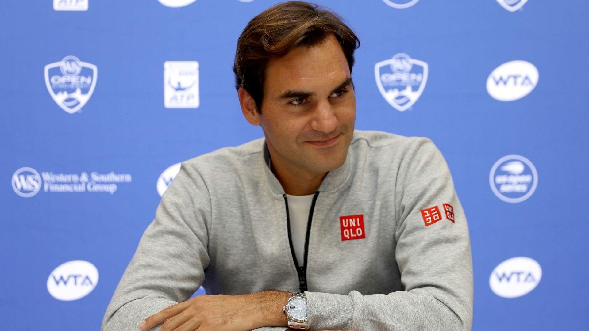 Федерер призна, че понякога получава предимство