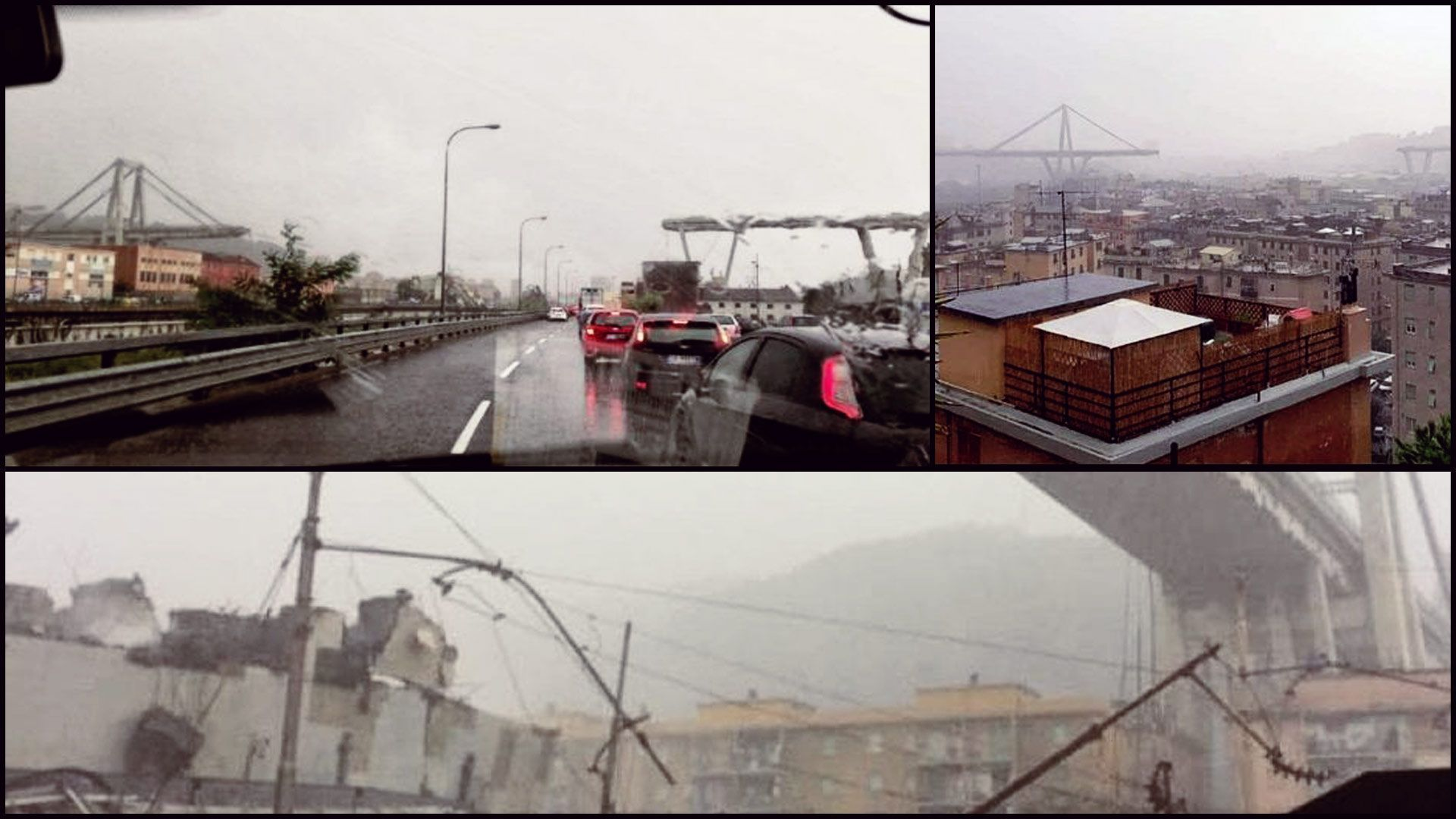 Срути се мост на италианска магистрала, има десетки ранени и жертви (видео)