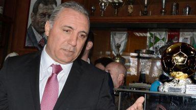 Стоичков обеща нов стадион за ЦСКА