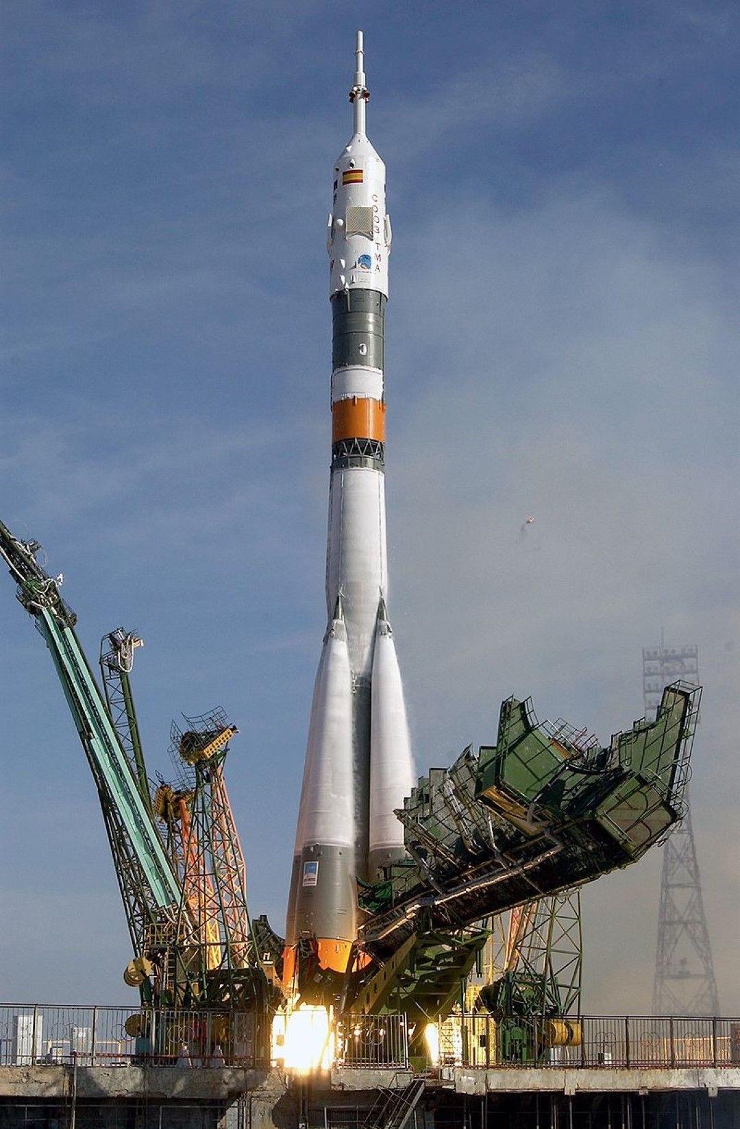 """Излитането на """"Спутник-5"""""""