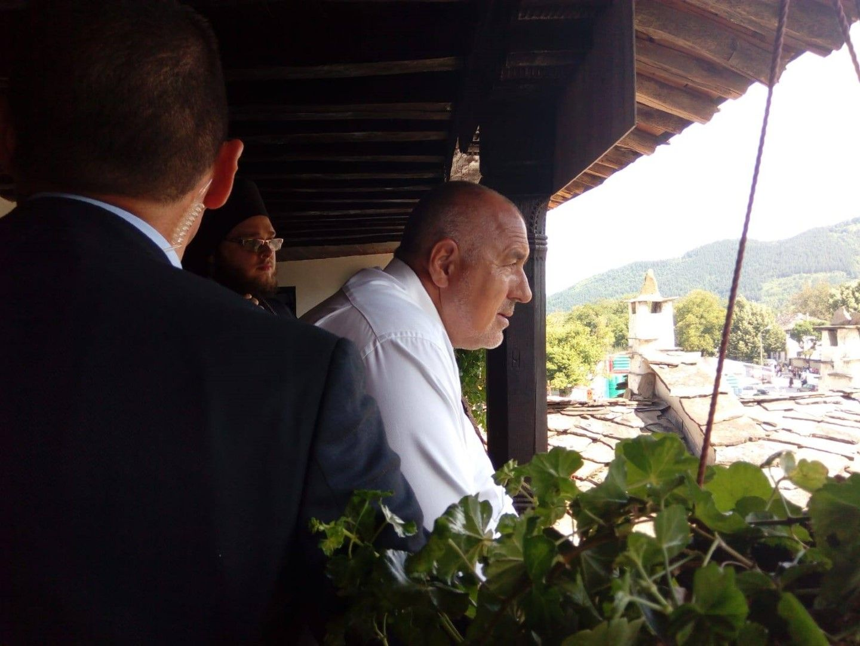 Премиерът Бойко Борисов в Троянския Манастир