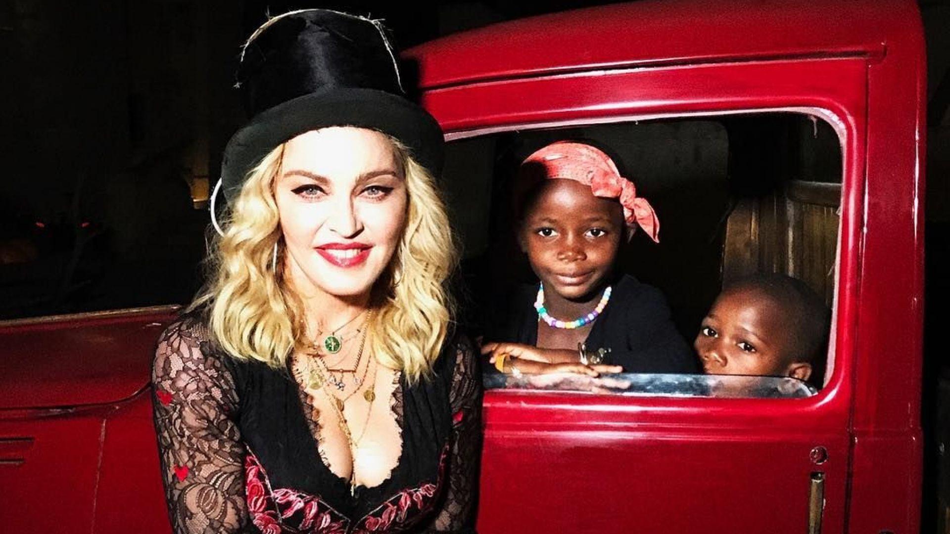 Мадона получи награда от Съюза на гейовете и лесбийките