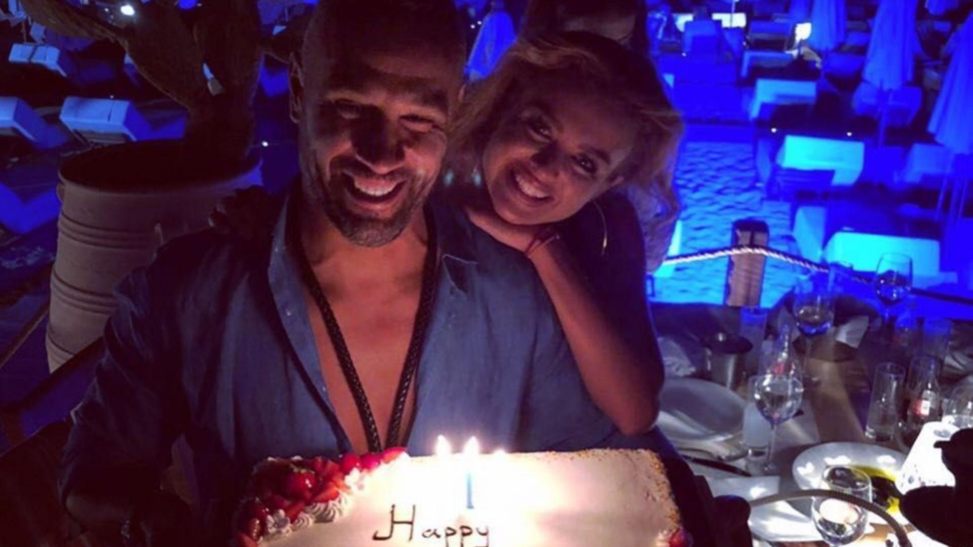 Петко Димитров отпразнува 43-тия си рожден ден на морето