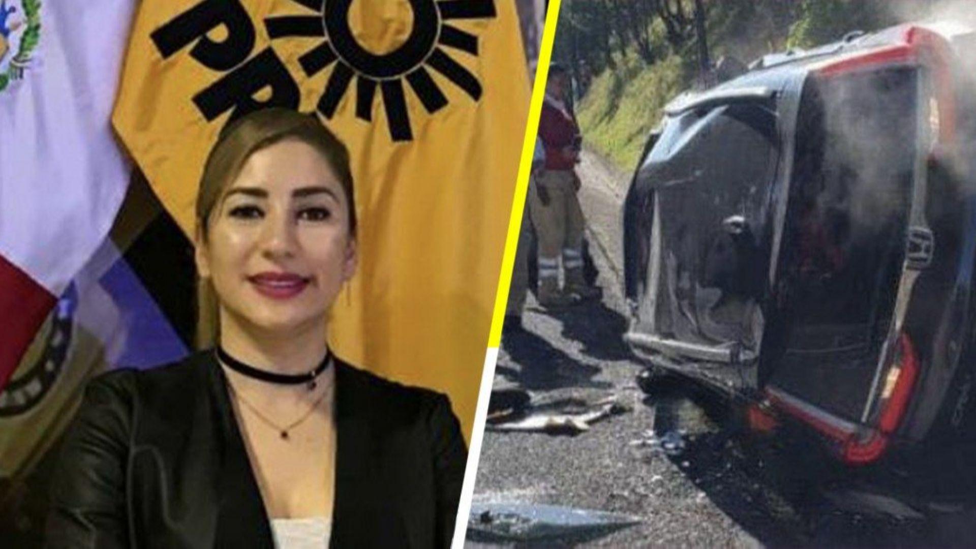 Отвлякоха като на кино току-що избрана за конгресмен в Мексико