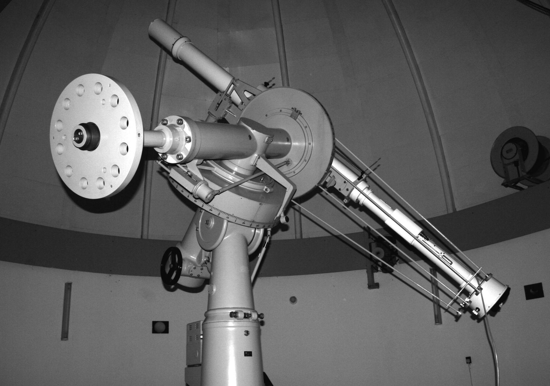 15-см слънчев телескоп-коронограф в Национална астрономическа обсерватория Рожен