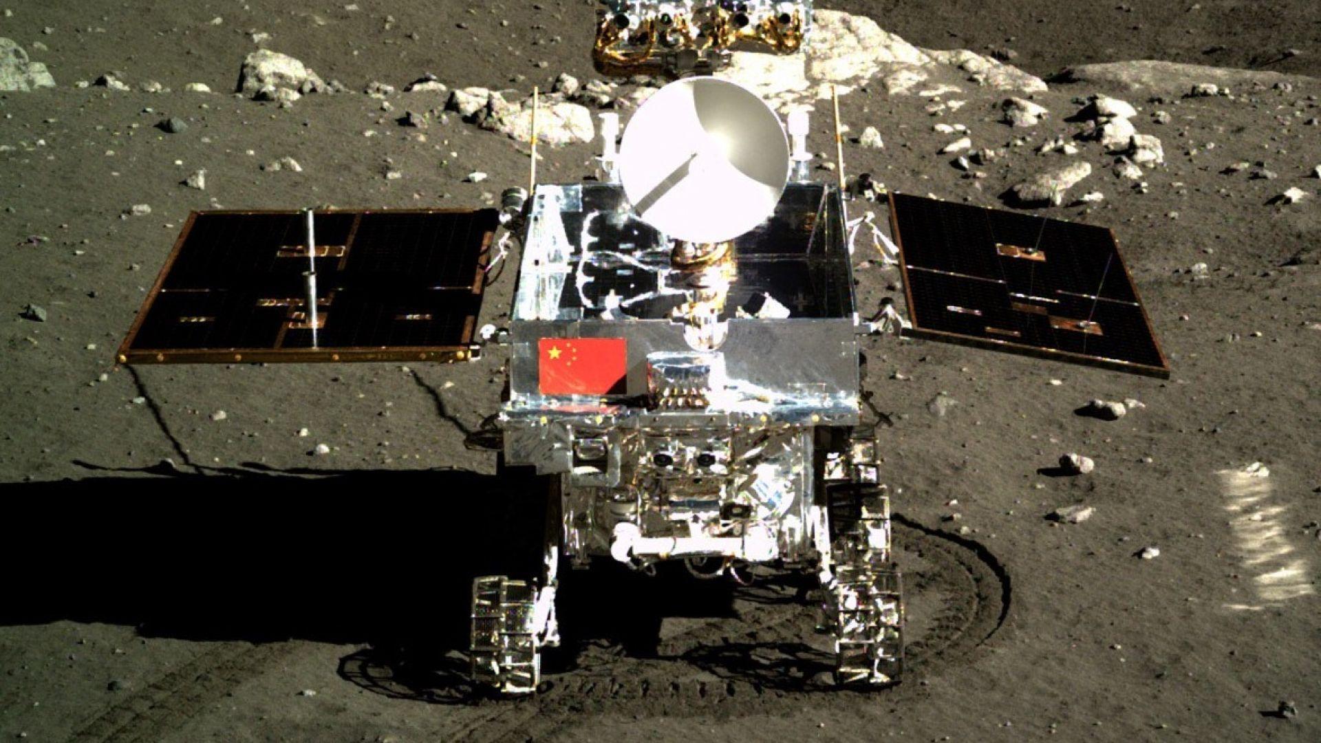 Китай представи роувъра за обратната страна на Луната