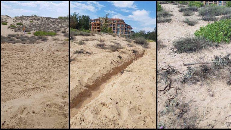 Концесионер отрече да е увреждал дюните в Слънчев бряг