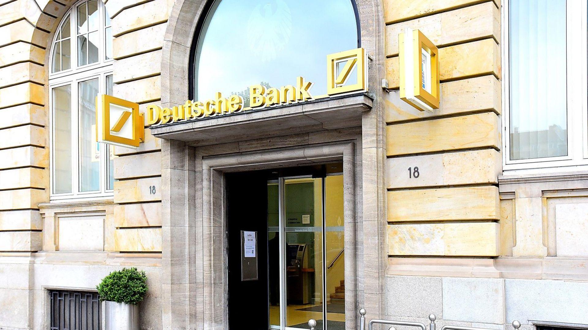 Deutsche Bank обмисля сливане с UBS