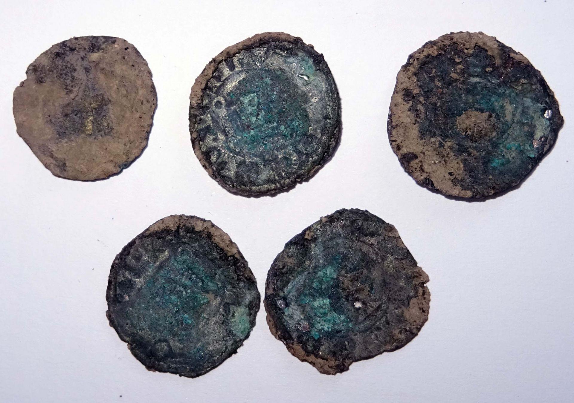 Откритите 7 монети в крепостта