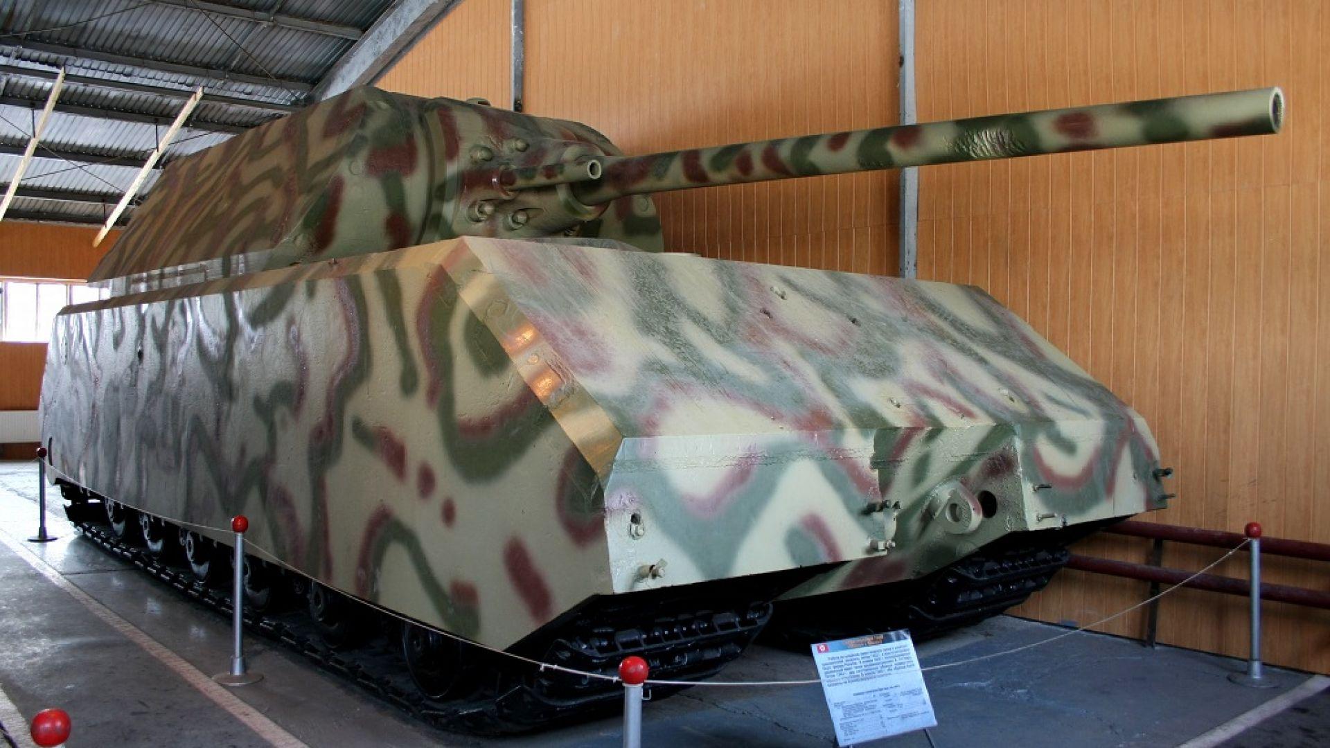 Най-дългият, най-високият и най-тежкият танк (снимки)