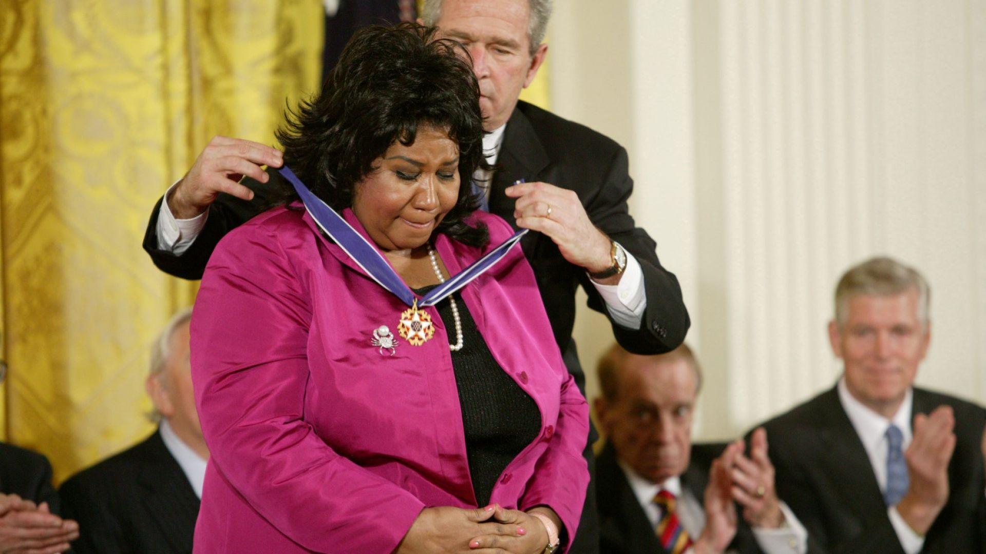 Арета Франклин получи почетен Пулицър посмъртно