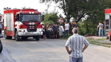 Пожарникар загина, а други двама пострадаха при пътния инцидент край Куклен