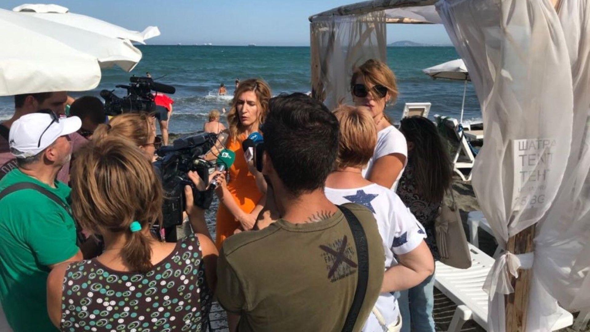 Ангелкова пое отговорност плажовете да са достъпни за хората с увреждания