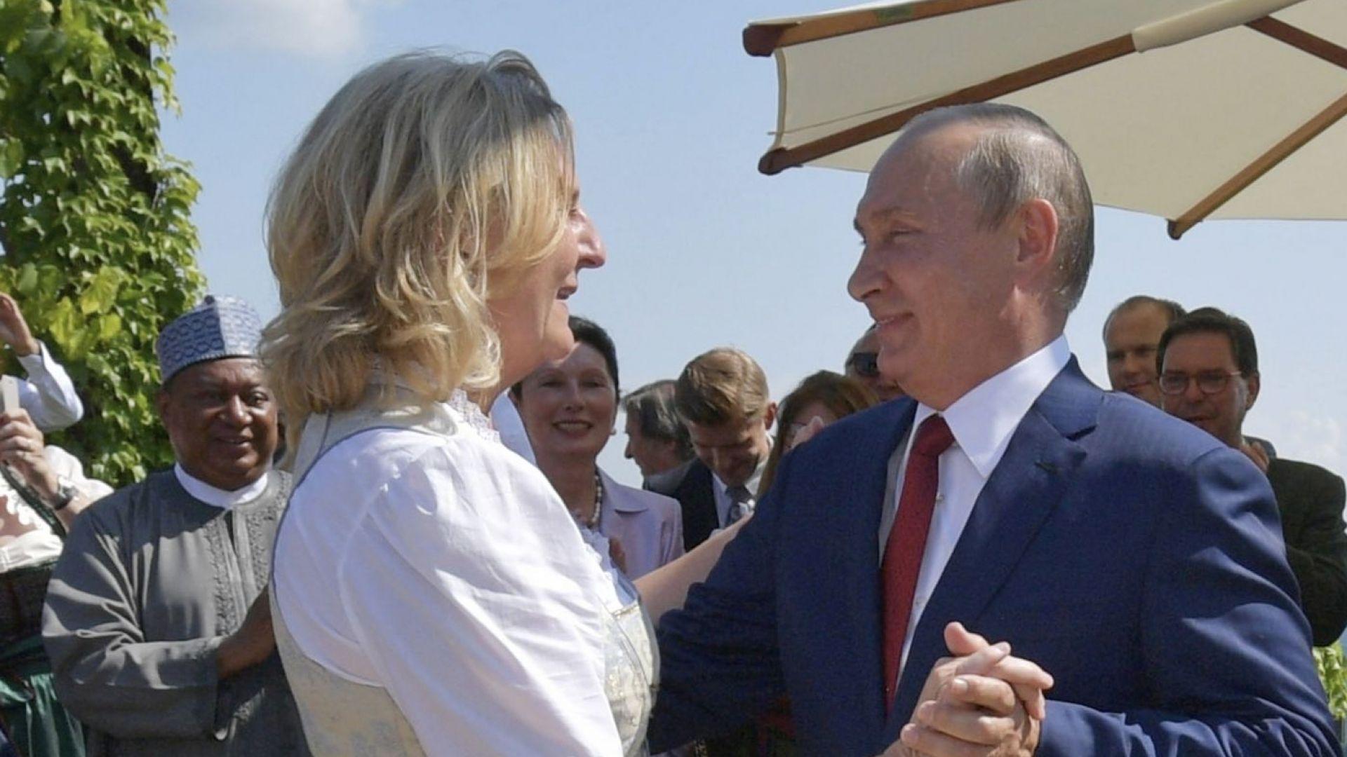 Сянката на Путин тегне над австрийските тайни служби