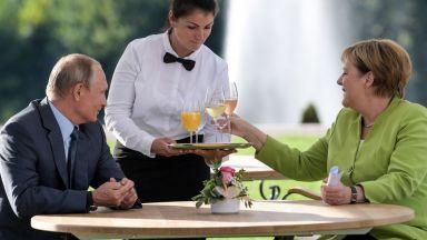 """Путин и Меркел говориха 3 часа за Украйна, Сирия и """"Северен поток 2"""""""