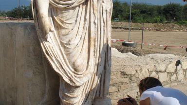 Статуята от Хераклея Синтика може да е на организатор на гладиаторски игри (видео)