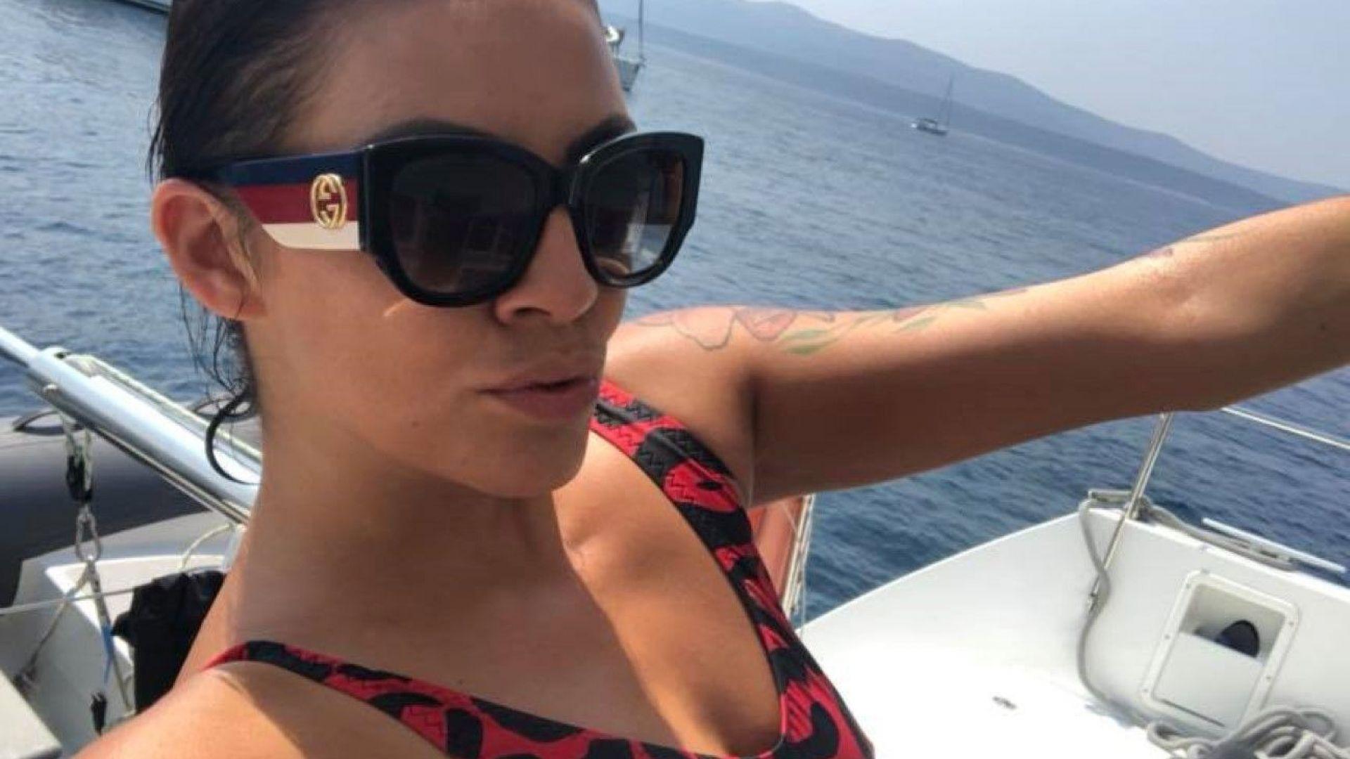 Деси Цонева обиколи Хърватия по вода и суша (снимки)