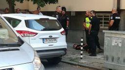 Хванаха бандит след зрелищно преследване в центъра на София