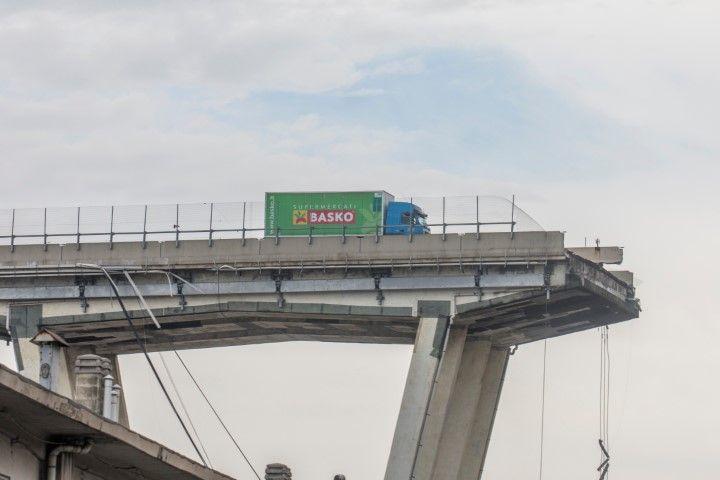 Мостът след инцидента