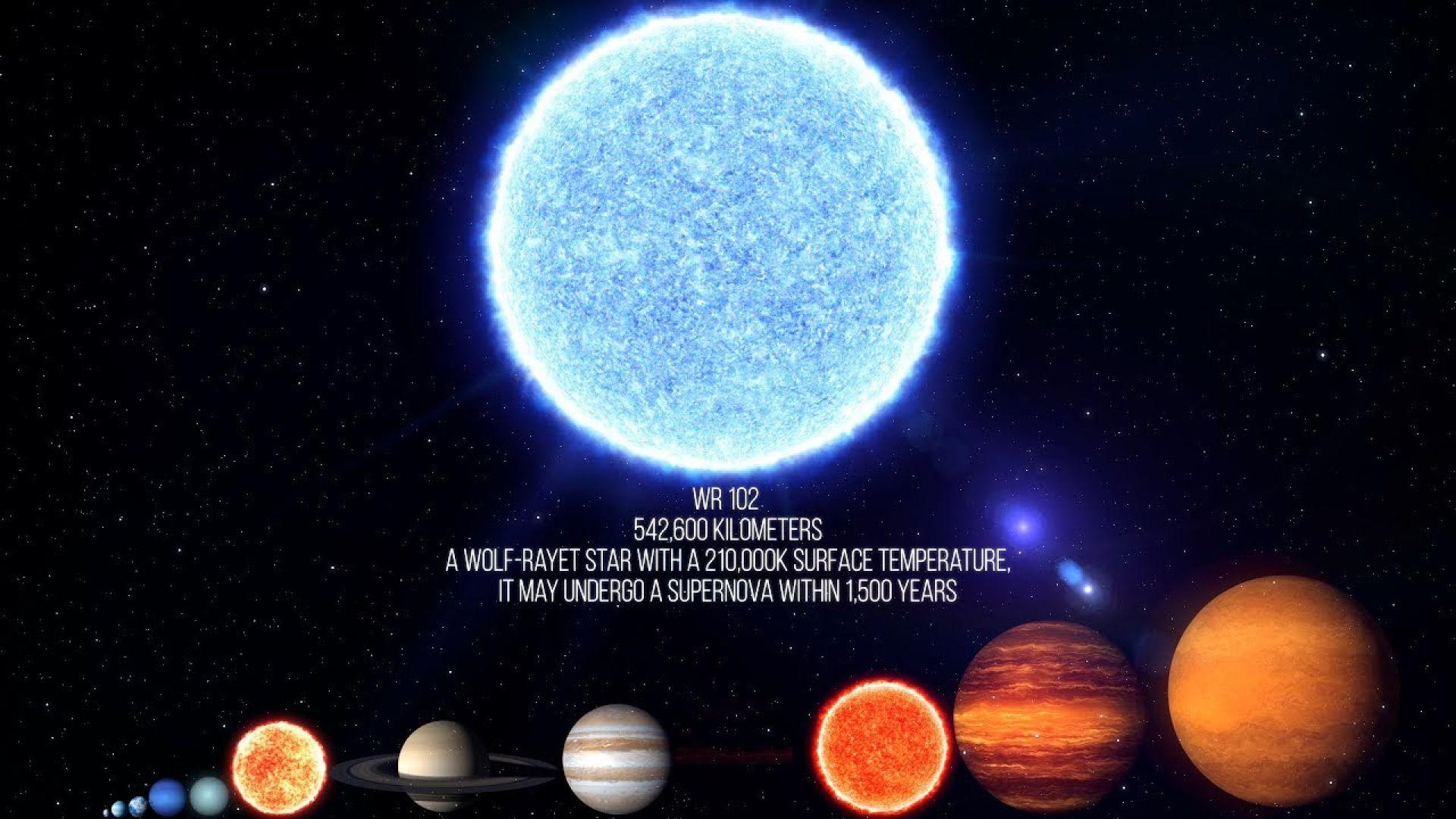 Коя е най-горещата звезда във Вселената