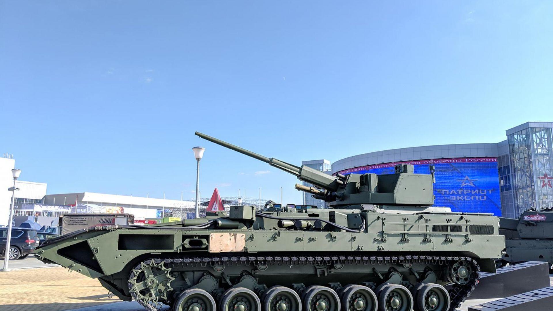 Първи кадри от тест на нови руски оръжия (видео)