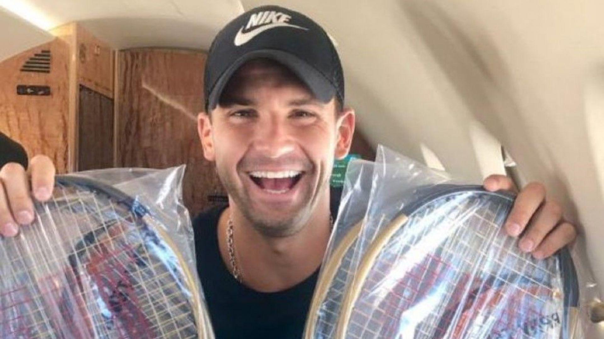 Григор се готви за US Open