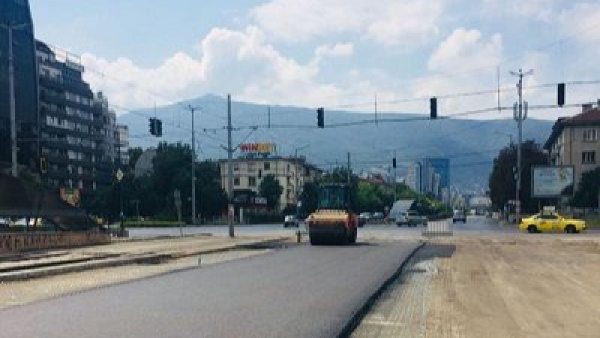 """Избягвайте бул. """"България"""" в посока Моста на влюбените"""