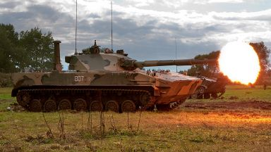 "Най-новите ""танкове-парашутисти"" (снимки)"