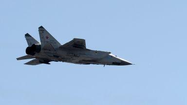 """Руски изтребител МиГ 31 бе вдигнат, за да """"изпрати"""" американски RC-135"""