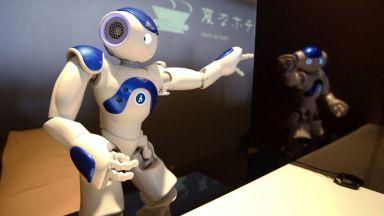 Роботи ще учат япончета на английски език