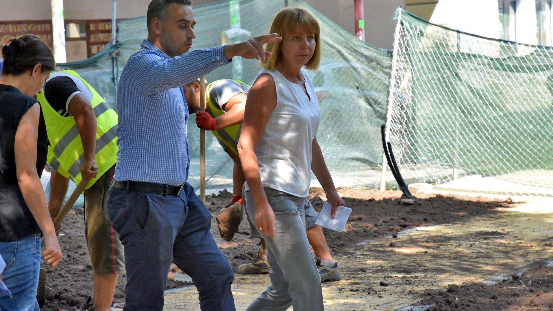 Всички частични ремонти на училища в София приключват до 15 септември