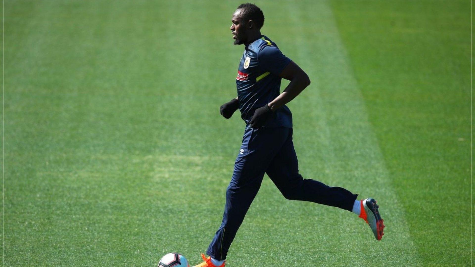 Юсеин Болт се пробва като футболист и в Австралия