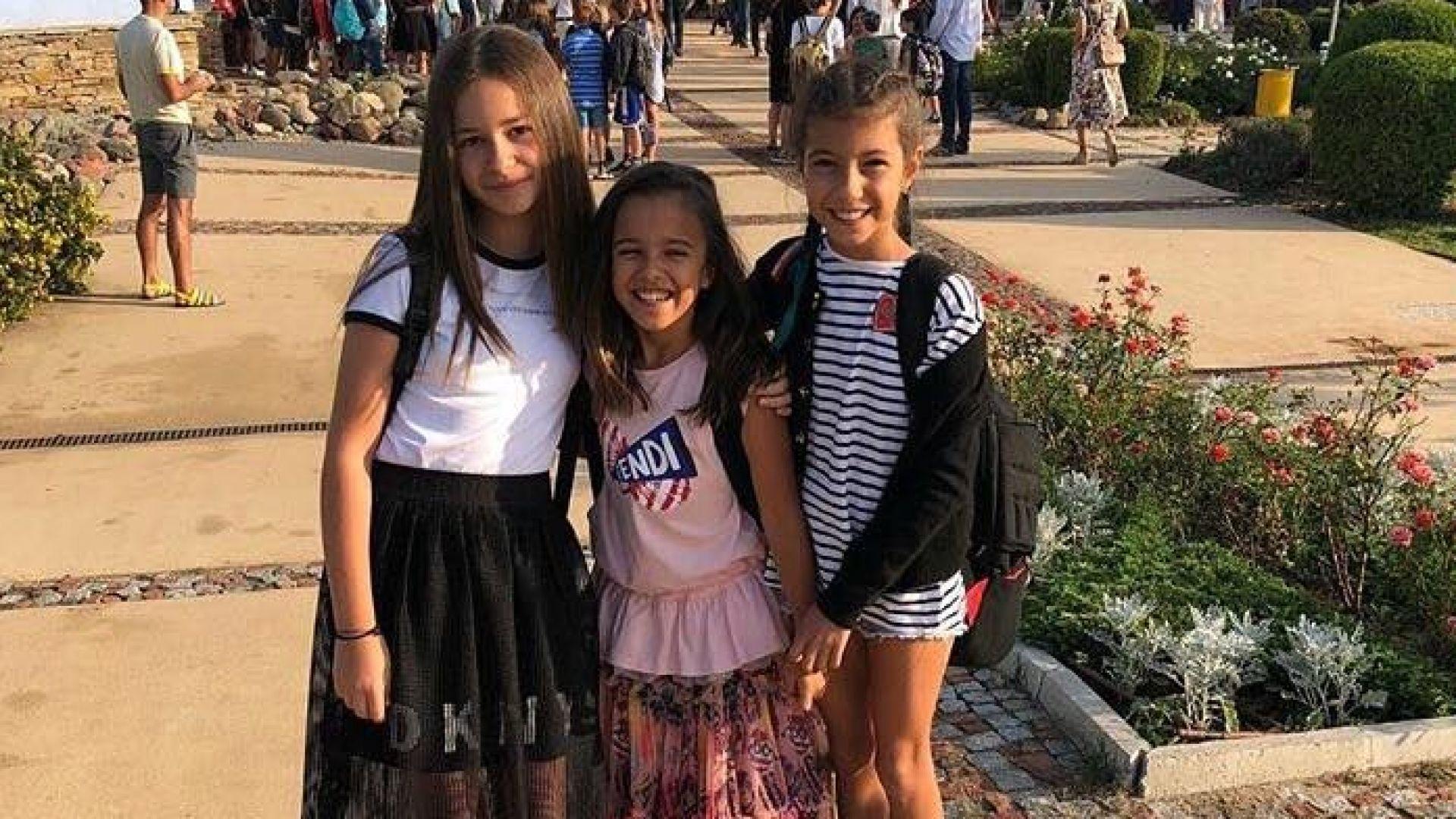 Певицата Мария изпрати дъщеря си в 5-и клас