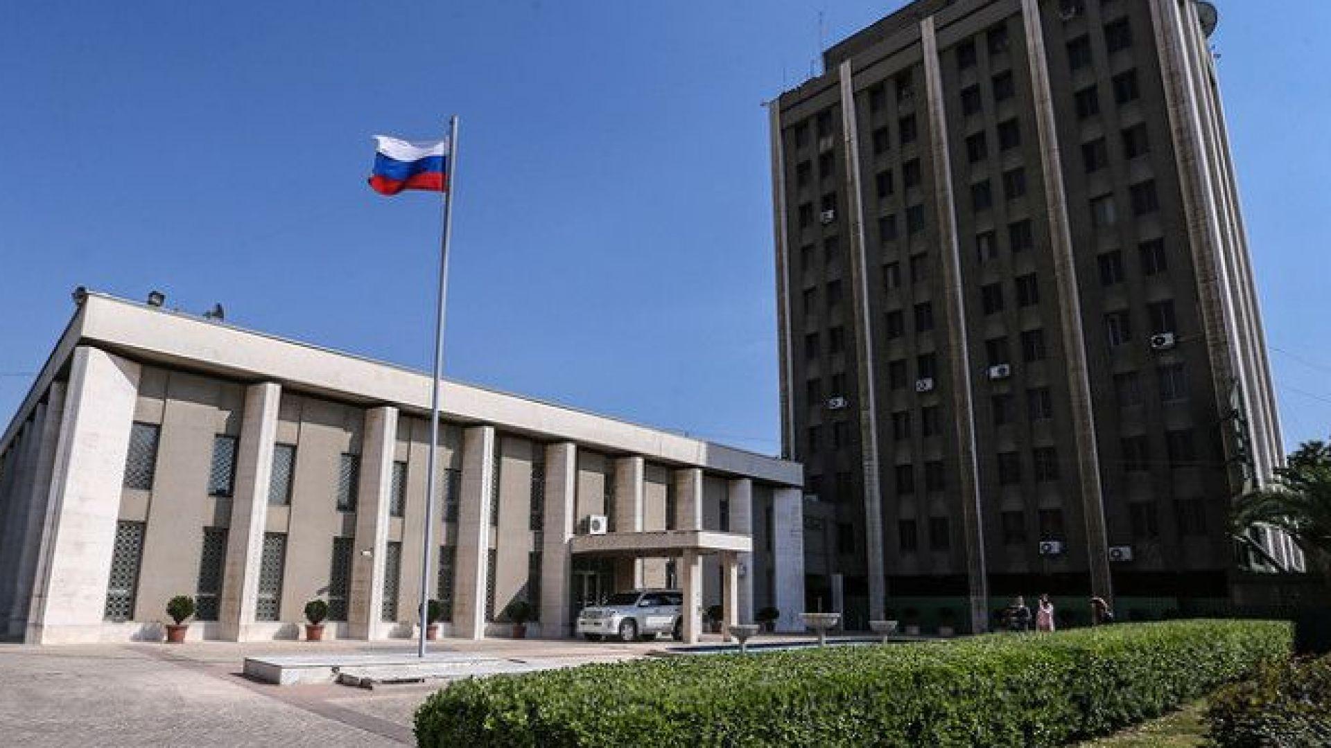 Руското посолство пред Dir.bg: Сигналът за бомбата е фалшив
