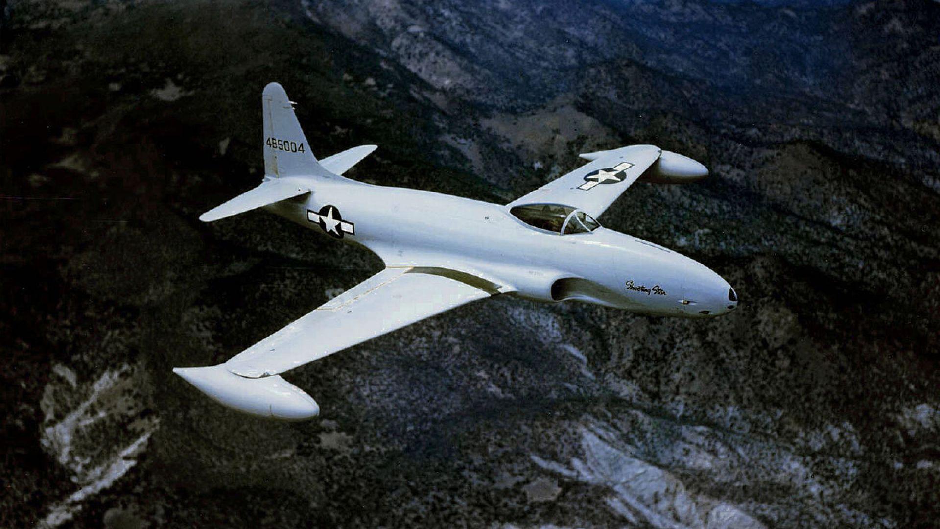 Първият реактивен самолет на САЩ (снимки)