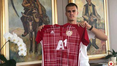 Божидар Чорбаджийски подписа нов договор с ЦСКА