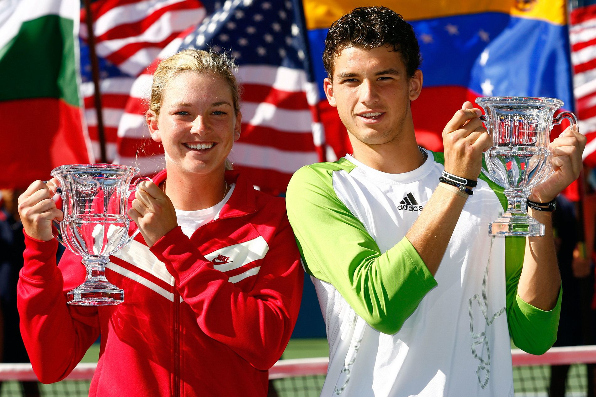Шампионите на US Open - Григор Димитров и Коко Вандевеге