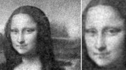 """Учени изрисуваха микроскопична версия на """"Мона Лиза"""" с милиони бактерии"""