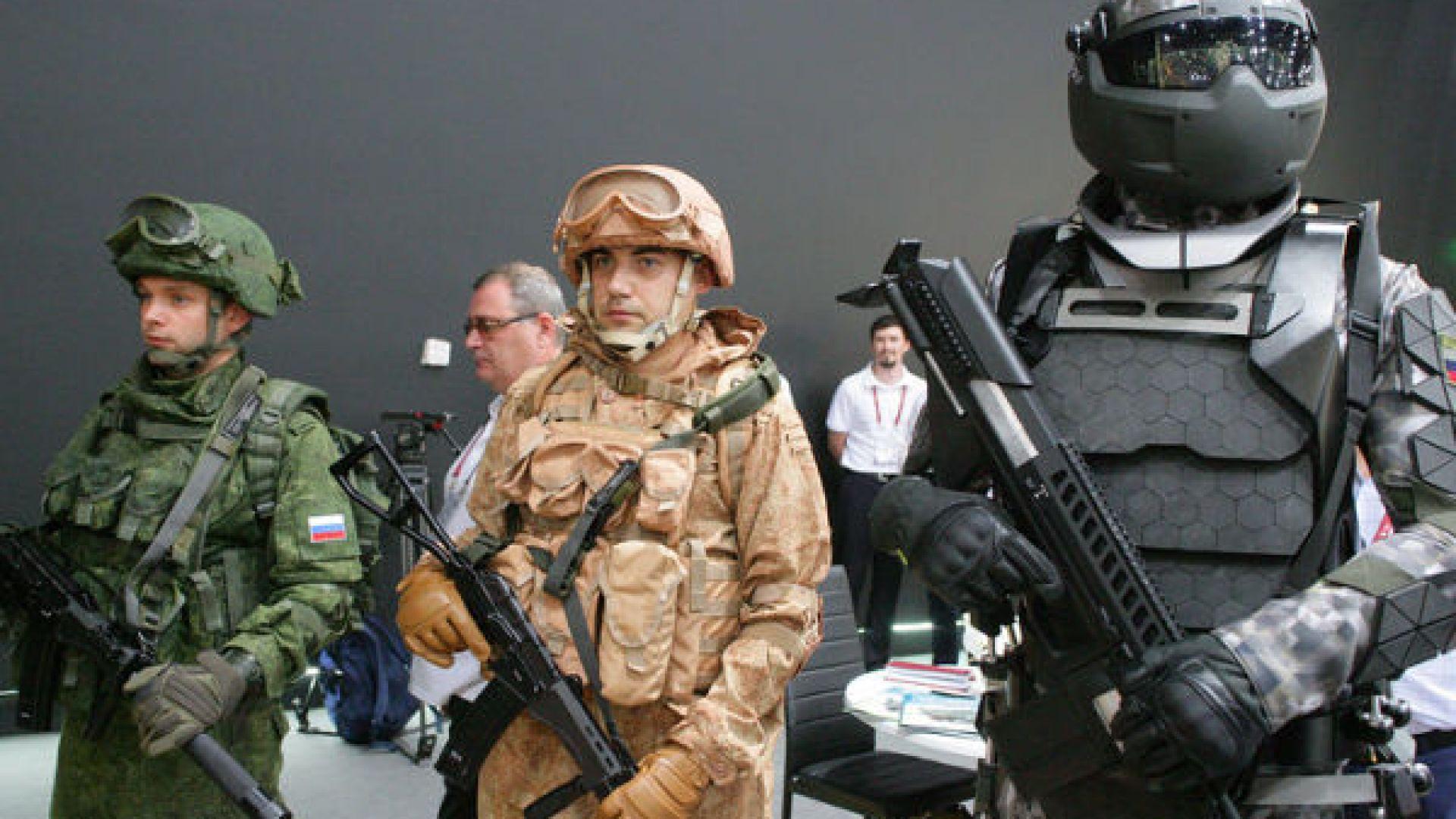 Екзоскелети за руската армия