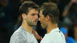 Надал: Григор Димитров е най-красивият тенисист