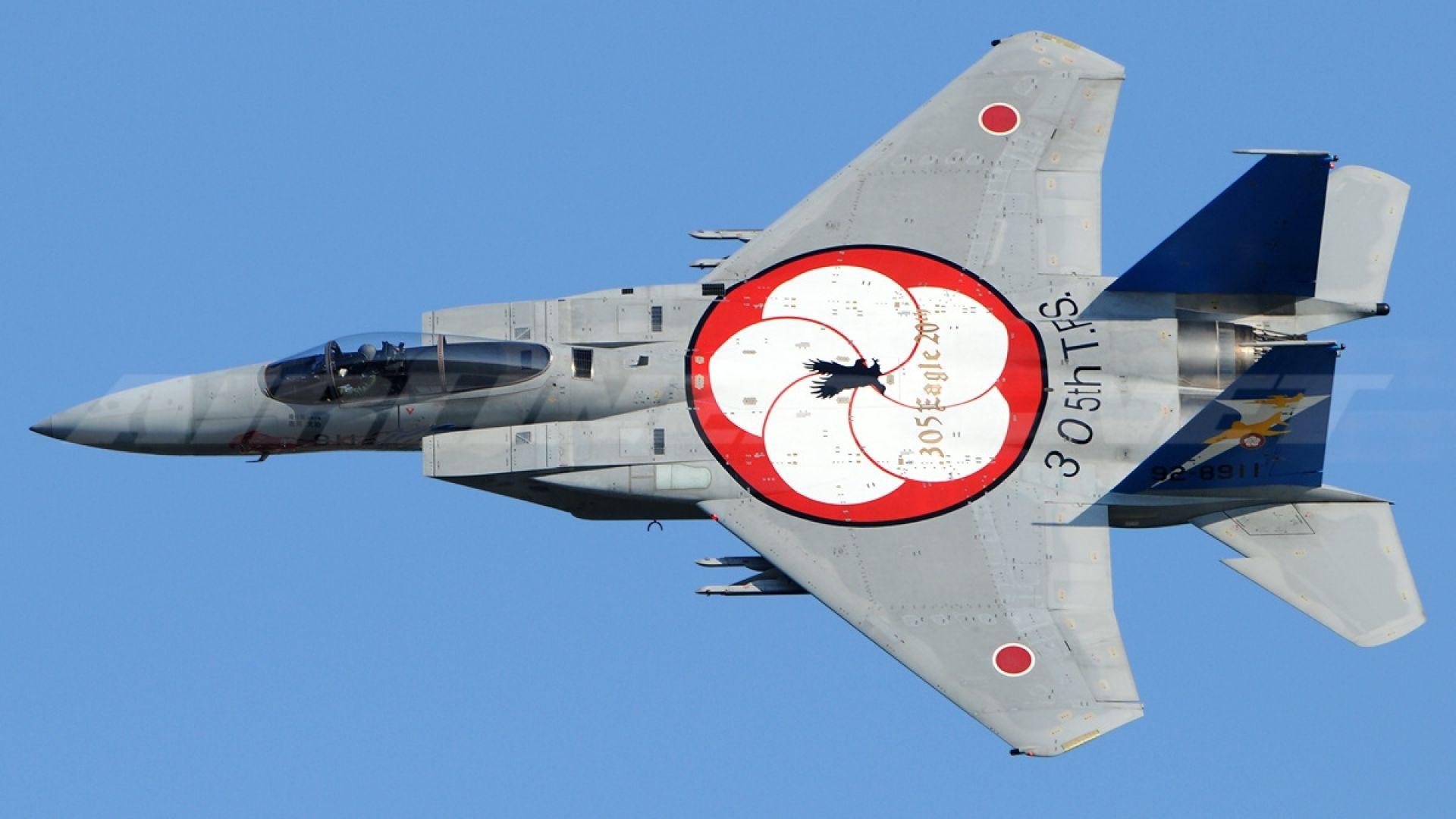 Как Япония ще модернизира старите си F-15 (снимки)