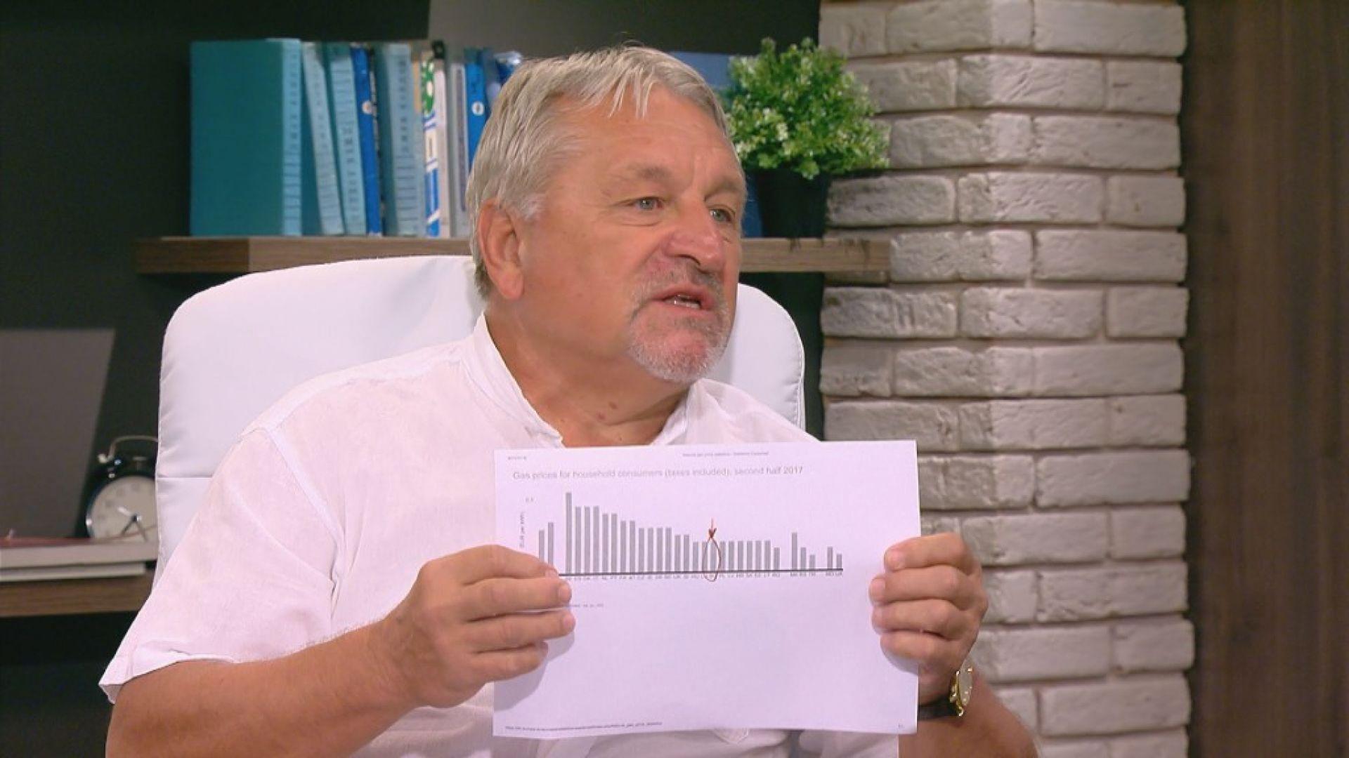 Иван Хиновски: Поскъпването на природния газ е неизбежно